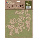 Delta Creative Accents Stencil - Celtic Cross
