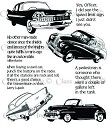 Class Act Inc. - Cling Stamp - Old car
