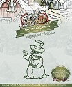 Yvonne Creations - Die - Magnificent Christmas - Snowman - YCD10005