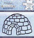 Card Deco - Yvonne Creations - Die - Playful Winter - Iglo