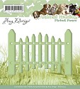 Card Deco - Amy Design - Die - Animal Medley - Picket Fence