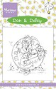 Marianne Design - Clearstamp - Don & Daisy - It`s a butterfly