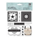 DoCrafts / Papermania - Urban Stamp - Michael Powell - Secret Garden