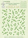 LeCreaDesign - Embossingfolder - Background - Musical symbols