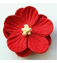 Marianne Design - Embellishments - Paper flowers: Red
