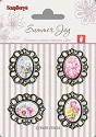 ScrapBerry`s - Embellishments - Resin Roses French Journey 1