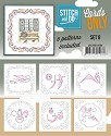 Card Deco - Stitch & Do - Oplegkaarten - Cards only - Set 8