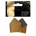 Docrafts / Papermania - Mini Envelopes - Forever Friends - Classic Decadence: Silver