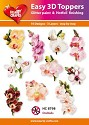 Hearty Crafts - Easy 3D Toppers - Orchids