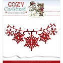 Card Deco - Yvonne Creations - Die - Cozy Christmas - Christmas Lights