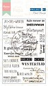 Marianne Design - Project NL - Clearstamp - Winter - Tekst (NL) - PL1517