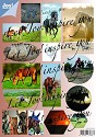 Joy! crafts - (3D-)stansvel - Paarden