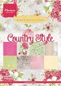 Marianne Design - Paperpack - Pretty Papers - Country Style