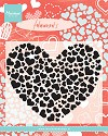 Marianne Design - Clearstamp - Heart XL