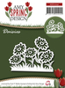 Card Deco - Amy Design - Die - Spring - Daisies