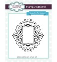 Creative Expressions - Cling Stamp - Stamps To Die For - Corinthiun Scroll