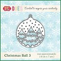 Craft & You Design - Die - Christmas Ball 3