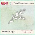 Craft & You Design - Die - Willow Twig 2