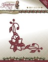 Card Deco - Amy Design - Die - Christmas Greetings - Poinsettia Corner