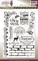 Amy Design - Clearstamp - Christmas Greetings - Tekst - ADCS10009