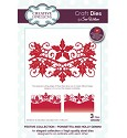 Creative Expressions - Die - The Festive Collection - Poinsettia and Holly Gemini