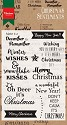 Marianne Design - Clearstamp - Christmas Sentiments