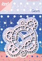 Joy! crafts - Noor! Design - Die - Gears with Clock