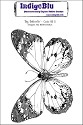 IndigoBlu - Cling Stamp - Big Butterfly