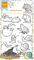 Marianne Design - Clearstamp - Hetty Meeuwsen - Hetty`s Garden Animals