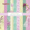 ScrapBerry`s - Paperpack - Floral Embroidery