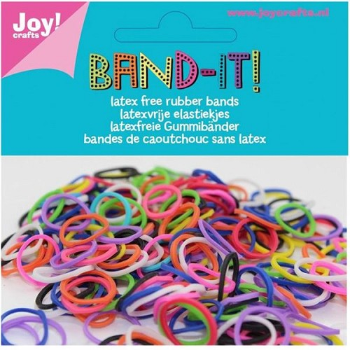 Band It 600 elastiekjes: assorti