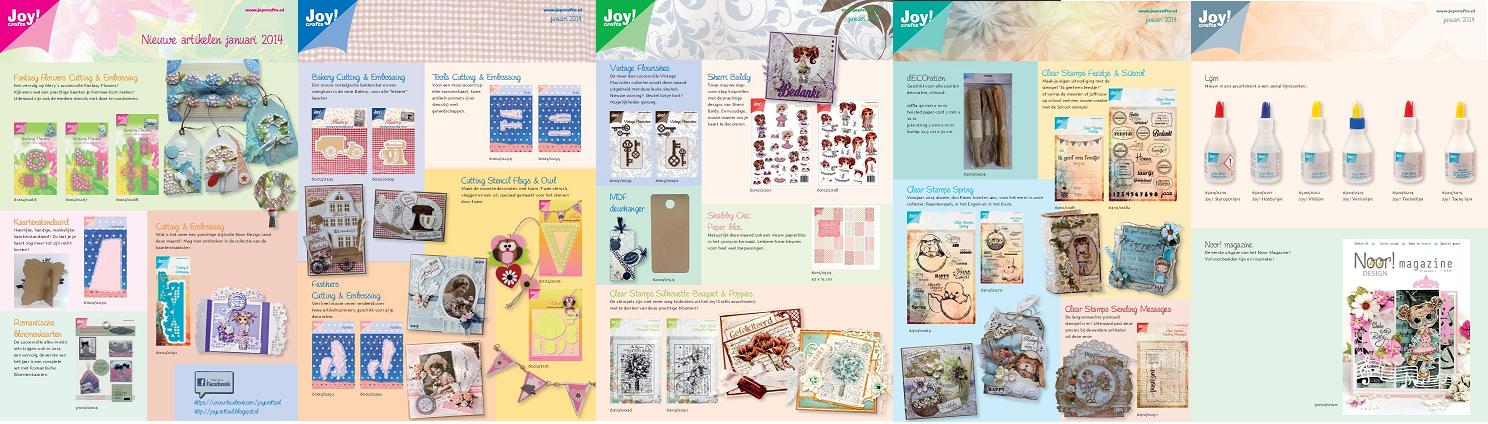 Folder JOY! Crafts januari 2014