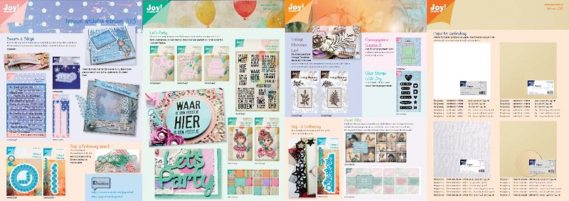 Folder JOY! Crafts 02. Februari 2015 - Groot